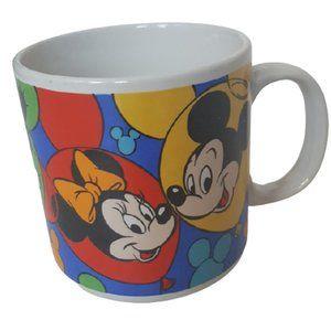 Vintage Disney characters Mickey, Mini, Goofy cup